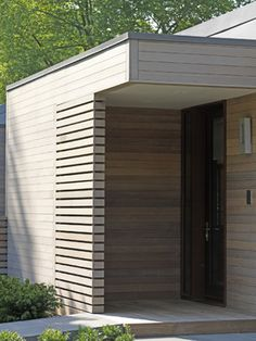Designing for privacy --- Woodvalley House contemporary exterior