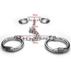 98.00$  Watch now - http://ali879.worldwells.pw/go.php?t=32708981200 - New password lock metal hand ankle cuffs wrist restraints shackles bdsm bondage handcuffs slave fetish torture devices sex toys