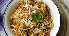 Experimente aus meiner Küche: Bulgur-Salat