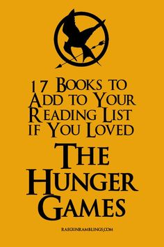 Great list of books perfect for Hunger Games lovers and why each would appeal to the Hunger Games fans - Rae Gun Ramblings:
