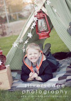 DIY tent prop tutorial