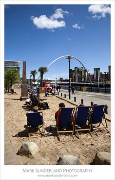 Quayside Seaside, Newcastle upon Tyne, England