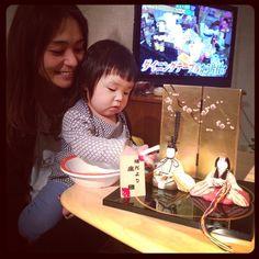 Instagram media by renatakeshita - お義母さんからお雛様頂きました