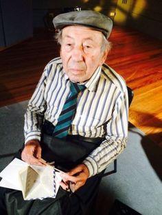 Bernard Kleinman, Auschwitz survivor talks to ABC News about the liberation, 70 years ago. (Image: ABC/Sarah Farnsworth)
