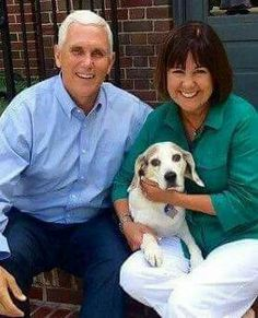 Nov. 8, 2016- Our Wonderful Vice President of our USA....Mike Pence and his lovely wife.