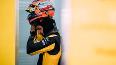 Robert Kubica - picture courtesy of Renault. Robert Kubica tests F1 car again six years after horror rally crash  Over 100 laps in 2012 car on Pole's first test since 2011 rally crash
