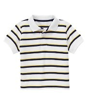 Stripe Polo Shirt #janieandjack