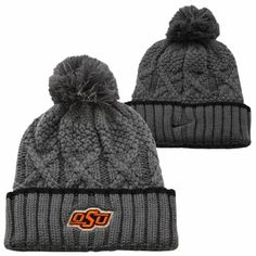 Nike Oklahoma State Cowboys Ladies Better Knit Beanie - Gray e92dd9af97a