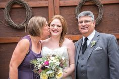 Bride + parents wedding day photo idea {Red Letter Days Photography & Events}