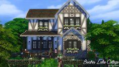 Sims 4 CC's - The Best: Beatrix Lake Cottage - No CC by JasonCastro95