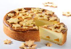 Sernik z brzoskwiniami. Kliknij w zdjęcie, aby poznać przepis. #ciasta #ciasto #desery #wypieki #cakes #cake #pastries #Xmas