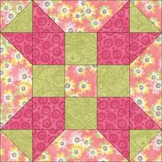 quilt patterns | Fool's Square Quilt Block Pattern