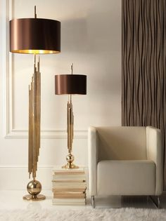 Buy Sigma L2 table lamp CL1944 ; floor lamp Z500 - Floor - Lighting - Dering Hall.  Contact Avondale Design Studio for information on purchasing any of the products we highlight on Pinterest.