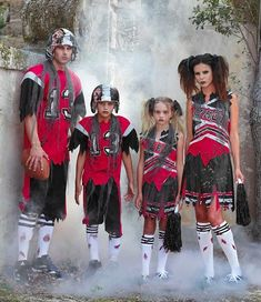 Zombie Football Costumes for the Whole Family                              …