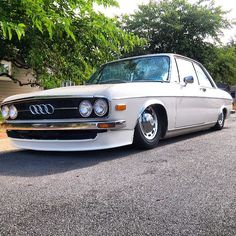 Old school Audi who can name the model?