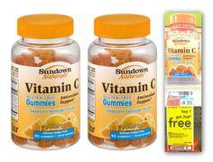 CVS: Sundown Naturals Vitamin C Gummies ONLY $1.65 ~ Mama Bees Freebies