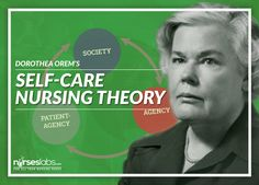 The Self-Care Nursing Theory or the Orem Model of Nursing was developed by Dorothea Orem is considered a grand nursing theory, which means the theory covers a broad scope with general concepts that can be applied to all instances of nursing.