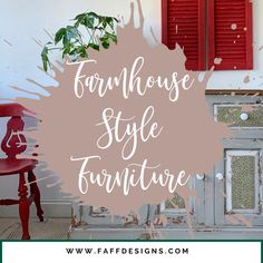 Farmhouse Style Furniture, Colorful Furniture, Paint Colors, Compliments, Diy Projects, Neon Signs, Colours, Painting, Paint Colours
