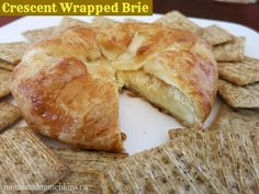 Crescent wrapped brie- this before and I LOVEDLOVEDLOVED it!!! So happy I found it!
