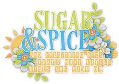 sugar and spice. Glitter Flowers, Kids Scrapbook, Sugar And Spice, Views Album, Clip Art, Crafty, Kit, Yandex Disk, Girls
