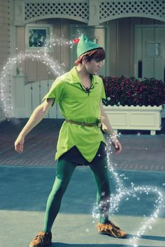 Peter Pan with some pixie dust