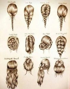 Plenty of easy and awesome hair styles!!