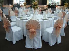 Оформление тканью свадеб