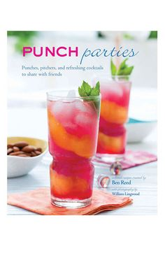 Ben Reed 'Punch Parties' Cocktail Book #Nordstrom