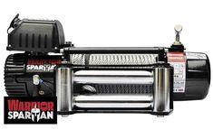 Treuil Electrique Spartan 4500 Kg 12v    ✓ ref: 95SPS12a   Superbe treuilWarrior Spartan 4500kg 12 voltesidéal pour les applications de traction et 4x4. Les caractéristiques exceptionnelles comprennent des roulements moteur étanchent avec raccords en laiton, relais robuste et étanche. Livré avec guide-câble à rouleaux en acier inoxydable à fixer sur une platine ou équerre, commande standard et télécommande sans fil. Garantie limitée a vie Warrior   ☞ - 0%