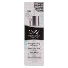 Buy Olay Regenerist Luminous Tone Perfecting Treatment 40 ml 好奇 Online | Priceline