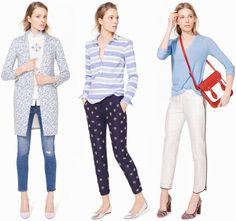 J. CREW INSPIRATION | My Daily Style en stylelovely.com