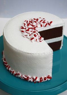 Oh... a candy cane cake!
