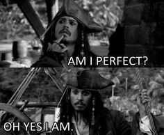 Johnny Depp as Captain Jack Sparrow in Pirates of the Caribbean Movies Quotes, Funny Quotes, Funny Memes, Hilarious, It's Funny, Captain Jack Sparrow, Jake Sparrow, Johnny Depp Joven, Jack Sparrow Quotes