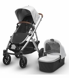 The 2017 Vista Blue Marl is on backorder from UPPAbaby and is expected to ship to new customers on May 2. The UPPAbaby VISTA does it all—times two, when you add a second stroller seat, infant car seat