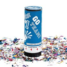 For a boy: Blue School Spirit Party Poppers - OrientalTrading.com