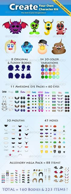 Create your Own Character Kit