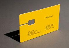 Culdesac, business card