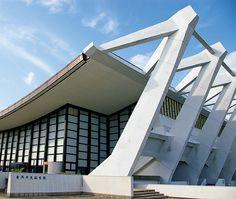 蒲郡市民体育センター(旧蒲郡市民体育館)