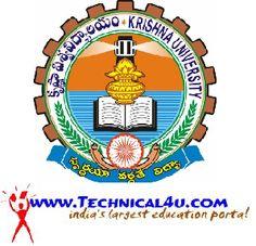 Krishna University B.Tech Revaluation Results December 2013