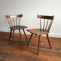 and then there were two paulmccobb side chairs
