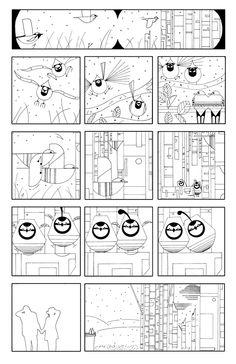 Charley Harper Line Art Comic Tags Coloring Forward