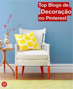 Fique por dentro de todas as tendências dos Top Blogs que falam sobre decoração no Pinterest