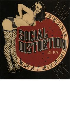 SOCIAL DISTORTION STICKER