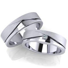 Ricchezza — ювелирные изделия -   Обручальные кольца RS7