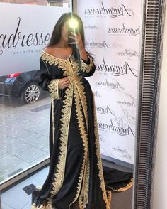 10 Styles Caftan Marocain 2019 Moderne A Vendre - Caftan Marocain Paris : Boutique Vente Caftan Luxe Pas Cher Style Caftan, Caftan Dress, Hijab Dress, Morrocan Dress, Moroccan Caftan, Asian Wedding Dress, Indian Wedding Outfits, Wedding Dresses, Hijab Fashion