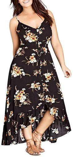 Plus Size Maxi Dress #plussize