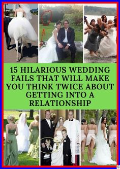 15 Hilarious Wedding Fails That Will Make You Think Twice About Getting Into A Relationship Wtf Funny, Hilarious, Wedding Fail, News 9, Romantic Pictures, Funny Pins, Funny Stuff, Pretty Birds, Weird World