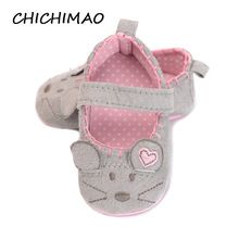 First Walkers Hot Kids Girl Leopard Baby Baby Shoes Peony Flower Infant Toddler Crib Baby Shoes 0-18 Months A Complete Range Of Specifications