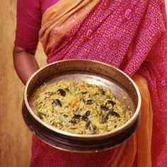 Mixed Vegetables with Coconut and Tamarind by Saveur. These fragrant vegetables are a classic Kerala Hindu dish.