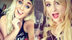 Meghan Trainor and #PartyDownSouth 2's Kelsie Davenport. Separated at Birth? Love Kelsie I think she may become my fave she reminds me so much of my friends and she's so pretty can't wait to see more of the show